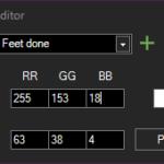 RGB Editor